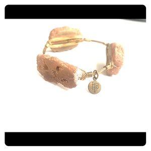 Bourbon and bowties bangle bracelet